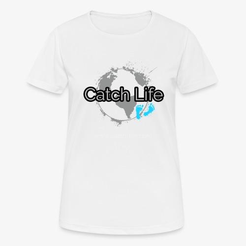 Catch Life Black - Women's Breathable T-Shirt