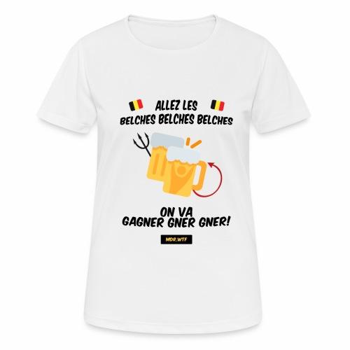 allez belge Par MDR.WTF - T-shirt respirant Femme