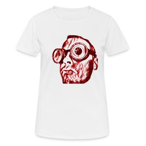 Face Tegner Red Grande - Dame T-shirt svedtransporterende