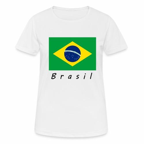 Brasil - Frauen T-Shirt atmungsaktiv