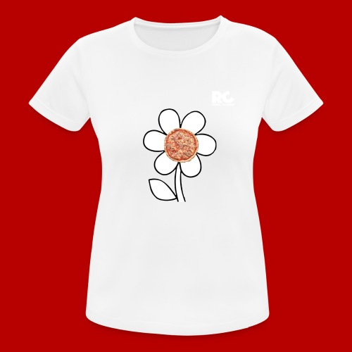 Pizzaflower Edition - Frauen T-Shirt atmungsaktiv
