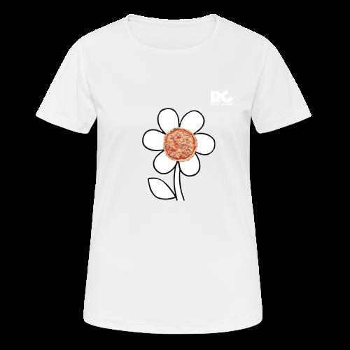 Pizzaflower Edition - Frauen T-Shirt atmungsaktiv