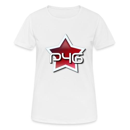 logo P4G 2 5 - T-shirt respirant Femme