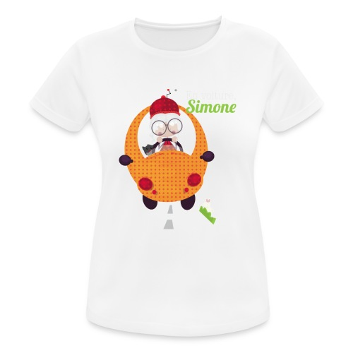 AUTOSIMONE - T-shirt respirant Femme
