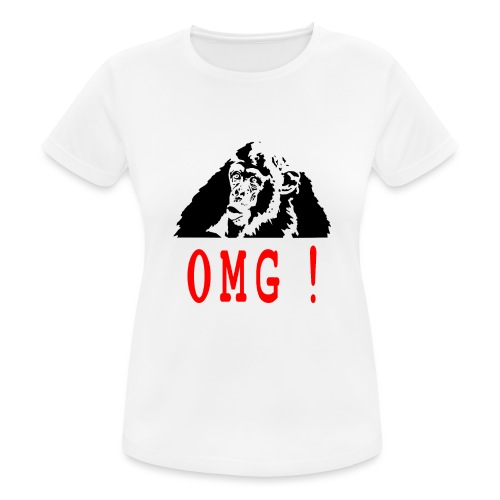 OMG monkey - T-shirt respirant Femme