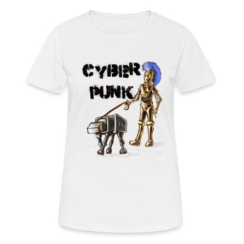 cyberpunk - Maglietta da donna traspirante