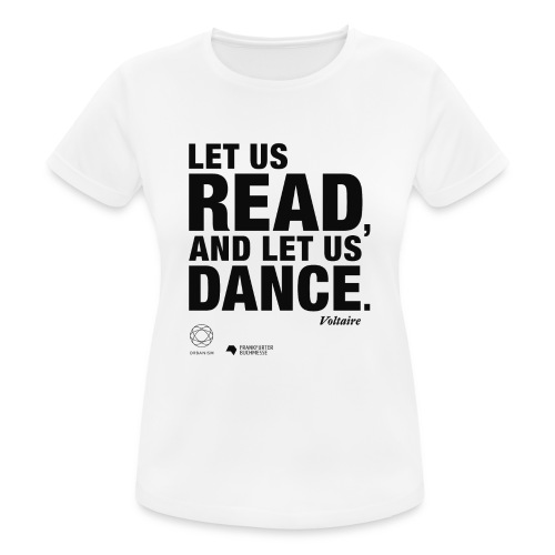 LET US READ | Bookish Merch - Frauen T-Shirt atmungsaktiv