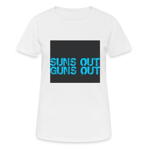 Felpa suns out guns out - Maglietta da donna traspirante