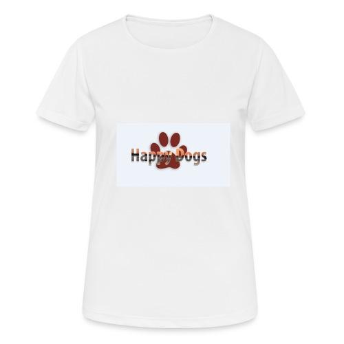 Happy dogs - Frauen T-Shirt atmungsaktiv