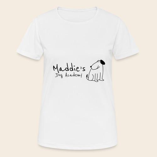 Académie des chiens de Maddie (noir) - T-shirt respirant Femme