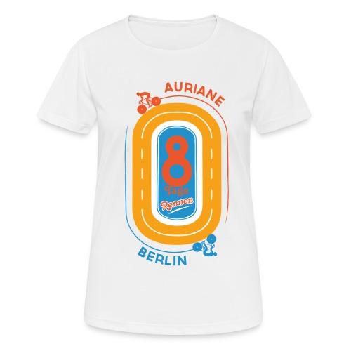 8-Tage-Rennen - Frauen T-Shirt atmungsaktiv