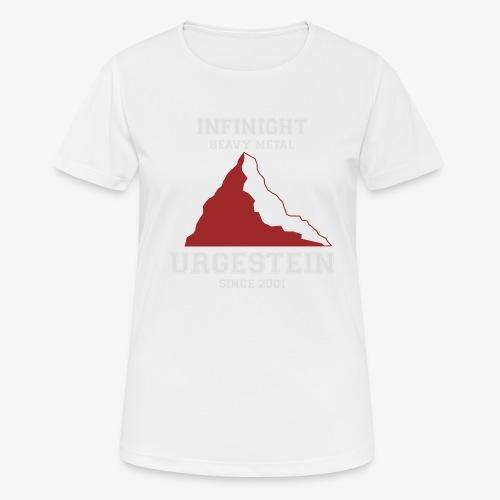 IN Urgestein Gipfel hell - Frauen T-Shirt atmungsaktiv