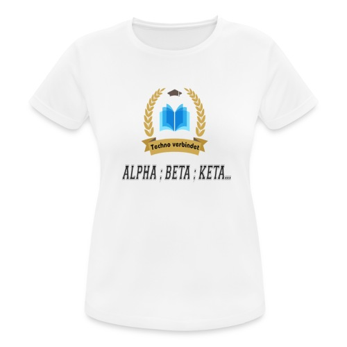 Techno verbindet - Frauen T-Shirt atmungsaktiv