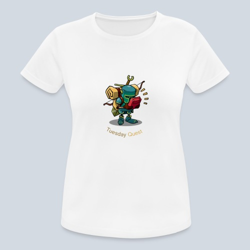 Tuesday Quest Logo - T-shirt respirant Femme