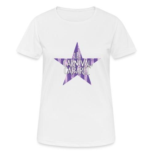 bonnet LCC noir etoie violette - Women's Breathable T-Shirt