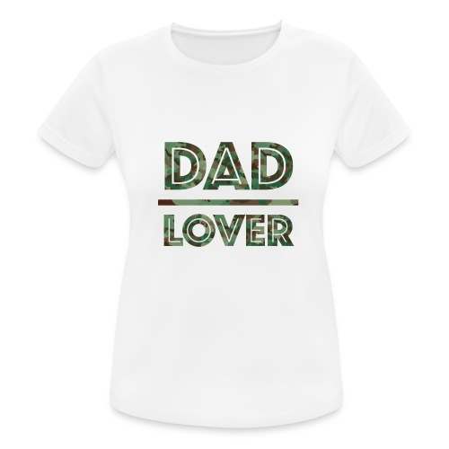 DAD LOVER - Andningsaktiv T-shirt dam