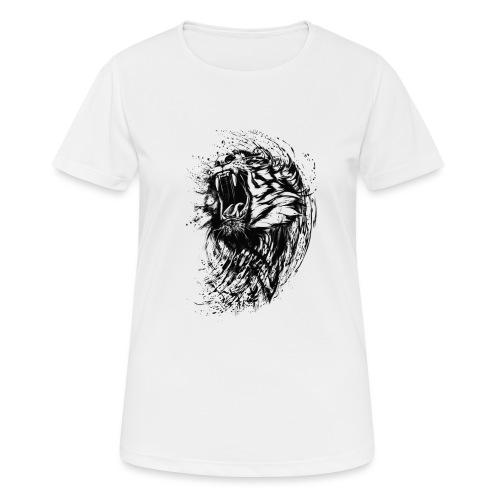 villikissa kuva - naisten tekninen t-paita