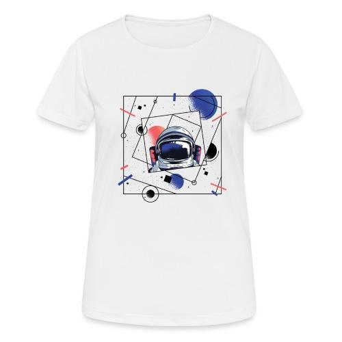 Beste Astronaut Weltraum Designs - Frauen T-Shirt atmungsaktiv