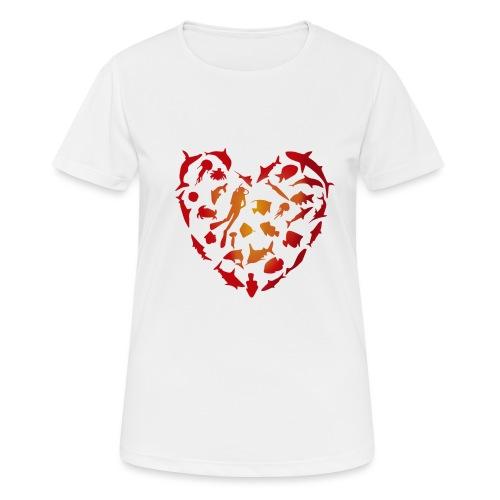 Amor Marino - Camiseta mujer transpirable