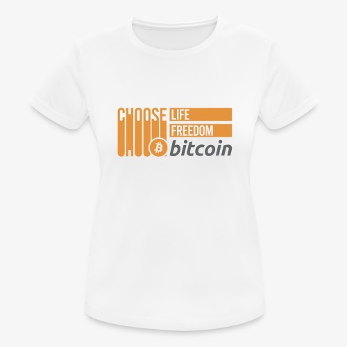 Bitcoin - T-shirt respirant Femme