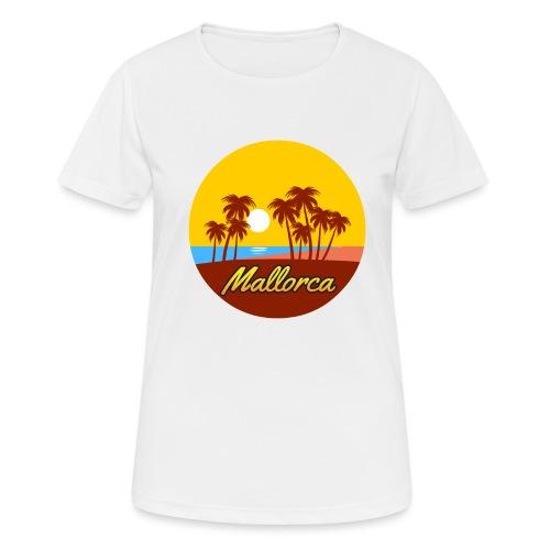 Mallorca - Als Geschenk oder Geschenkidee - Frauen T-Shirt atmungsaktiv
