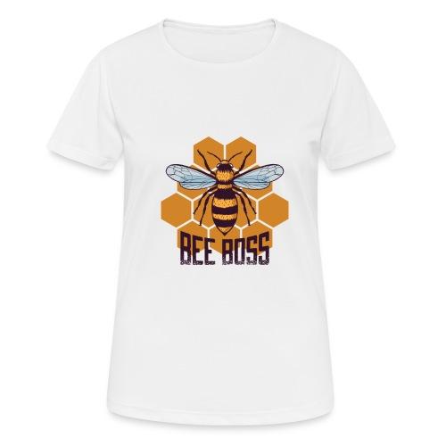 Bee Boss Biene Bienenkönigin Waben - Frauen T-Shirt atmungsaktiv