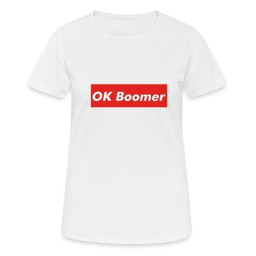 OK Boomer Meme - Women's Breathable T-Shirt