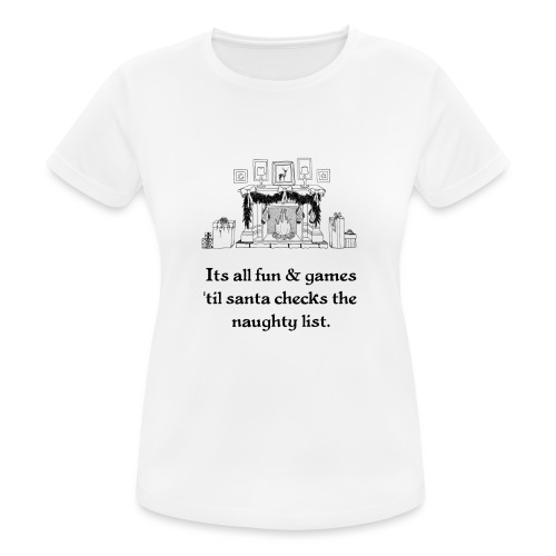 Weihnachten Christmas Ugly Kinder Bild Lustig - Frauen T-Shirt atmungsaktiv