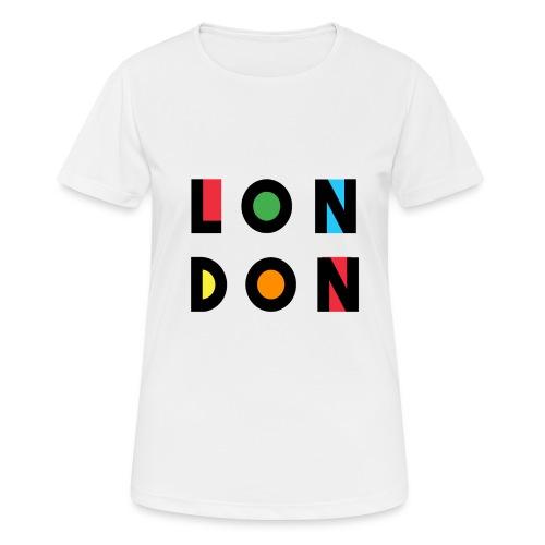 Vintage London Souvenir - Retro Modern Art London - Frauen T-Shirt atmungsaktiv
