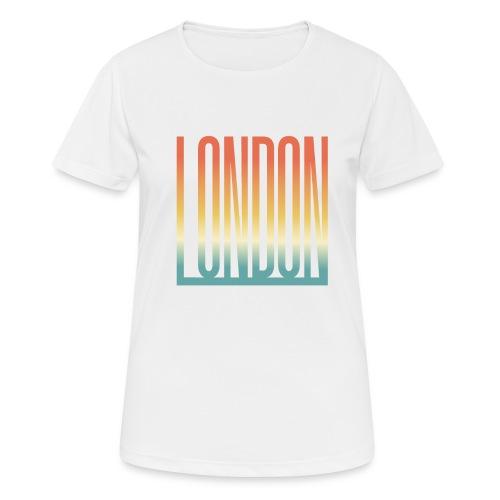 London Souvenir England Simple Name London - Frauen T-Shirt atmungsaktiv