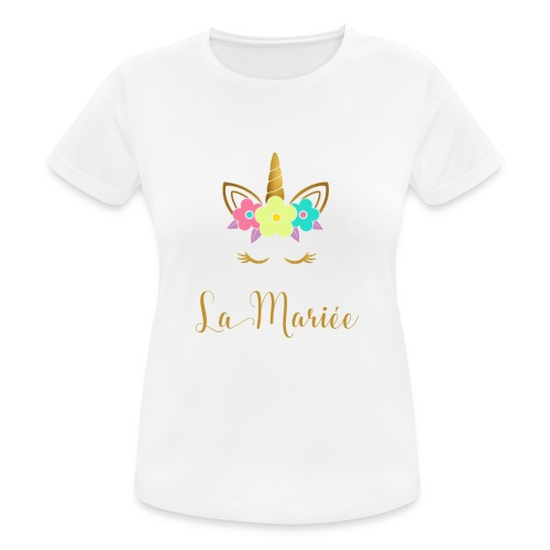 La Mariée Verlobung Junggesellinnenabschied - Frauen T-Shirt atmungsaktiv