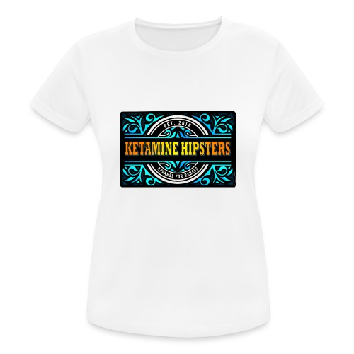 Black Vintage - KETAMINE HIPSTERS Apparel - Women's Breathable T-Shirt