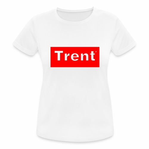 TRENT classic red block - Women's Breathable T-Shirt