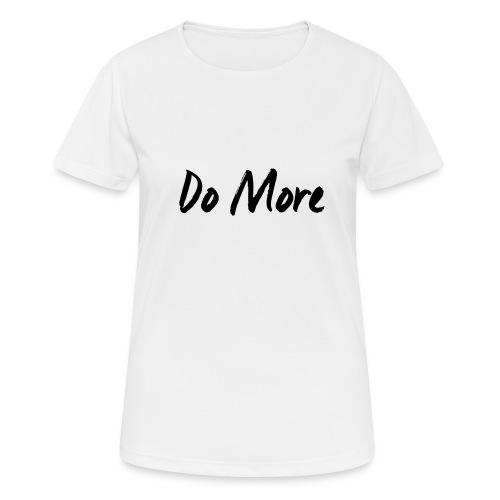 dark logo transparent background - T-shirt respirant Femme