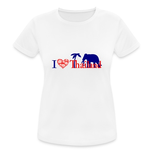 I love Thailand - Women's Breathable T-Shirt