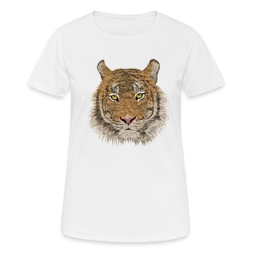 Tiger - Frauen T-Shirt atmungsaktiv