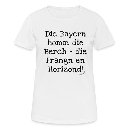 Horizond - Frauen T-Shirt atmungsaktiv