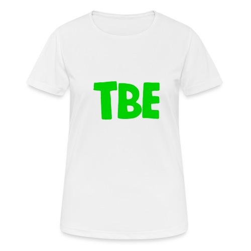 Logo groen - Vrouwen T-shirt ademend actief