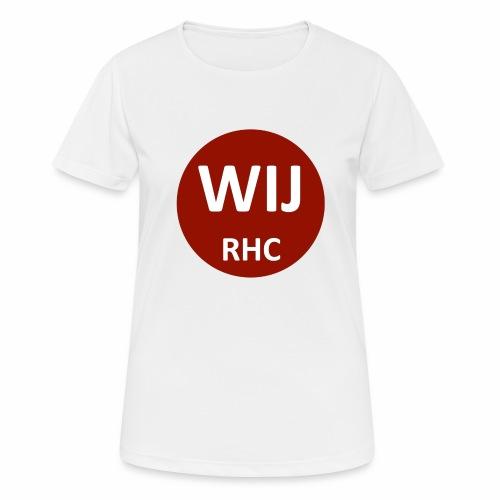 WIJ RHC - vrouwen T-shirt ademend