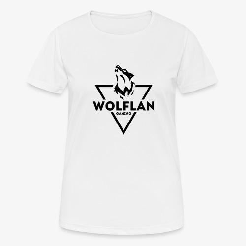 WolfLAN Gaming Logo Black - Women's Breathable T-Shirt