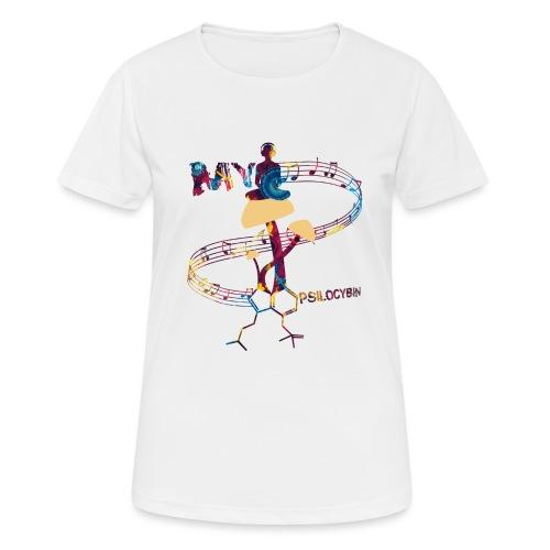 My Psilocybin (Dark) - Andningsaktiv T-shirt dam