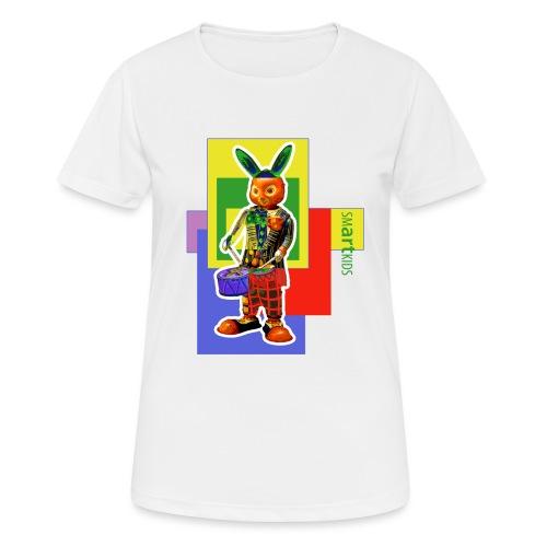 smARTkids - Slammin' Rabbit - Women's Breathable T-Shirt