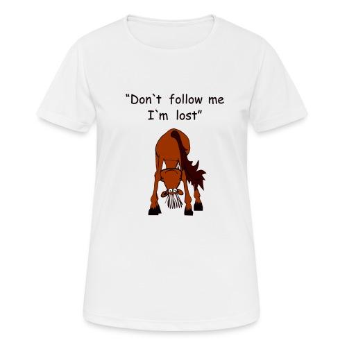 lost - Frauen T-Shirt atmungsaktiv