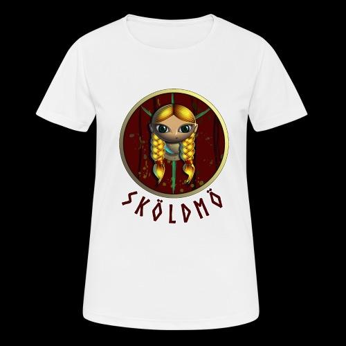 skoeldmoe - Andningsaktiv T-shirt dam