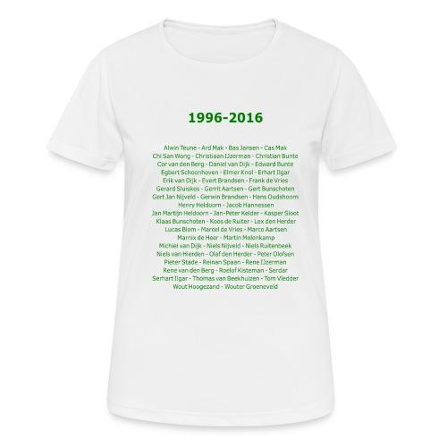 tekening4 - vrouwen T-shirt ademend