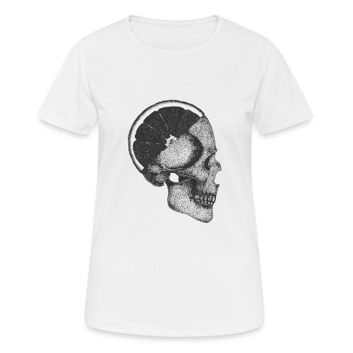 The Skull [BLACK] - Women's Breathable T-Shirt