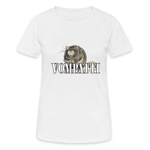 Vompatti - naisten tekninen t-paita