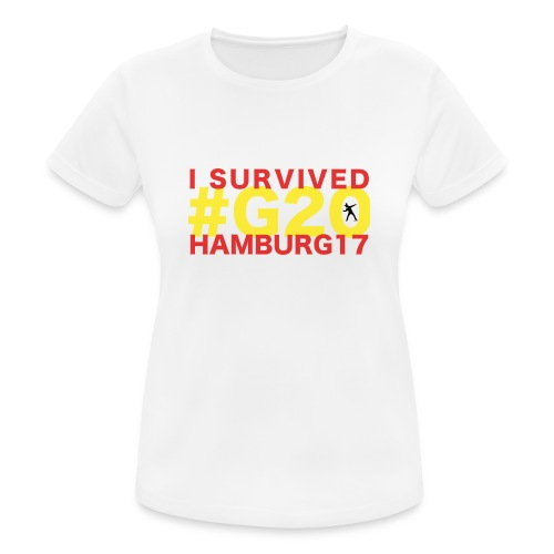 G20 transparent - Frauen T-Shirt atmungsaktiv