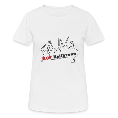 RCF Heilbronn - schwarzes Logo - klein - Frauen T-Shirt atmungsaktiv