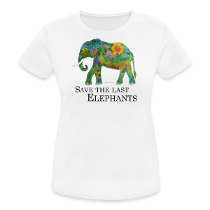 Save The Last Elephants - Frauen T-Shirt atmungsaktiv